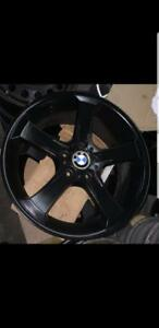 "BMW OEM 19"" wheels black matte"