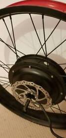 "48v 1500w Fat Bike Hub Motor Wheel. 26"" X 4.0"""