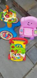 Vtech and Fisher price