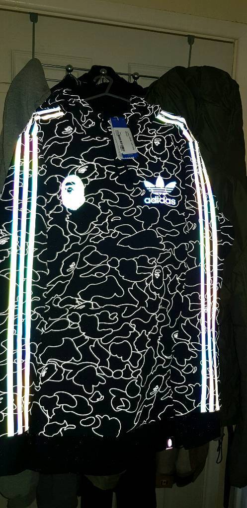 edb733387 Adidas x Bape tech hoodie. Medium. | in Newquay, Cornwall | Gumtree