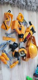 Work man's toy tools