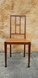 Vintage Edwardian Deco style Chair. Project