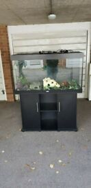 juwel rio 350 litre fish tank and cabinet 4ft in black delivery