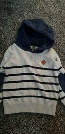 Boys Timberland hooded jumper 3-4 years