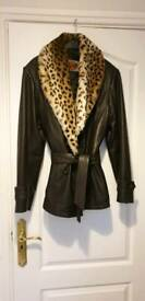 Ladies leathers jacket 858433b76