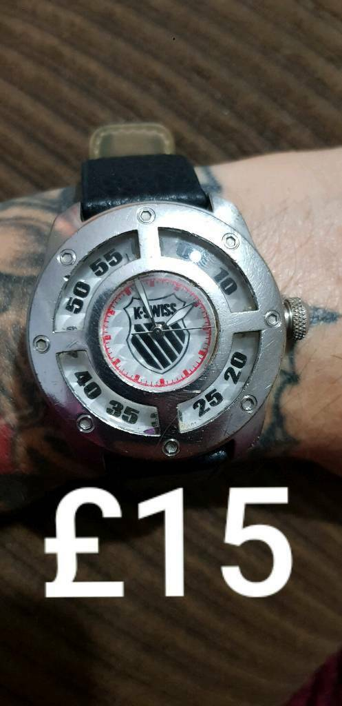 b5e16d4d83c6 K swiss watch. Hull