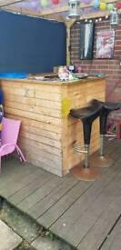 Garden bar DIY