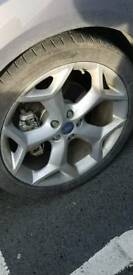 19 Ford ST genuine alloys and tyres