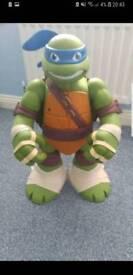 Giant Leonardo ninja turtle play set
