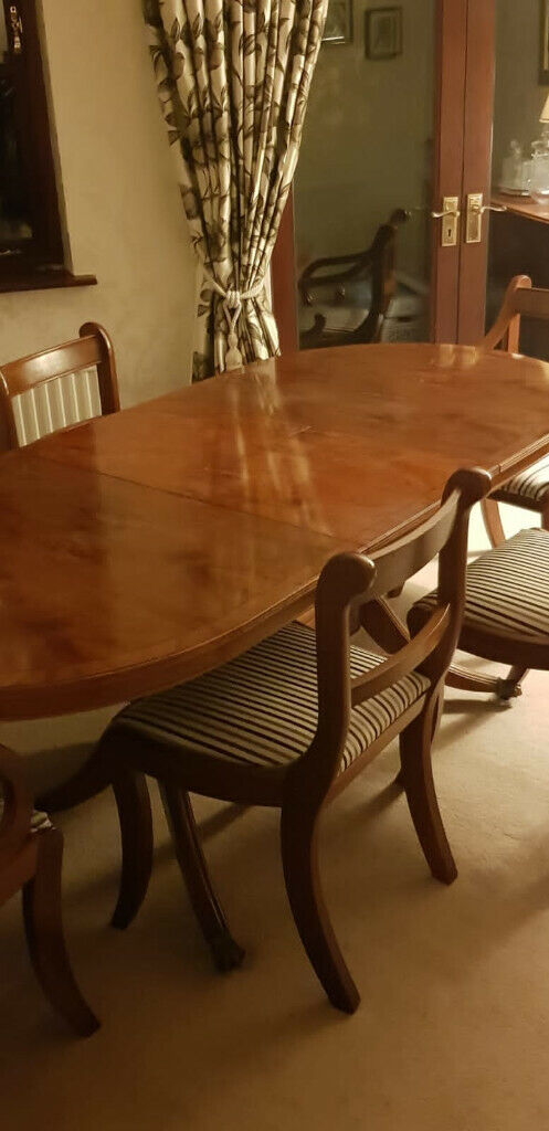 Yew Dining Table Chairs And Sideboard In Trafford Manchester Gumtree
