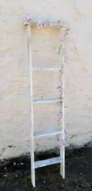 Handmade Rustic Ladder Shelf