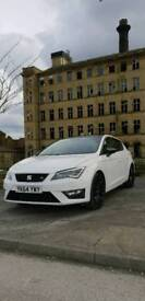 2014 64 Seat Leon Fr 2.0 Tdi Cr Tech Pack 184bhp