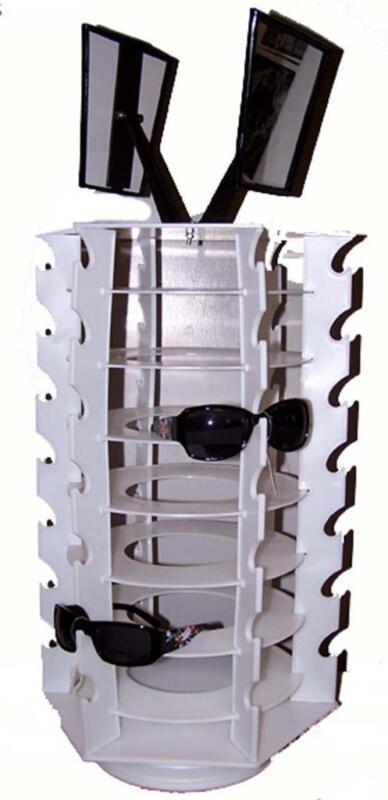 SPINNING SUNGLASS 42 PAIR GLASSES HOLDING COUNTER DISPLAY RACK eyewear HOLDER