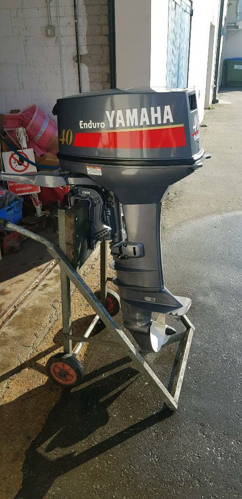 Yamaha 40hp Enduro Comercial Outboard 2010 Immaculate Long Shaft