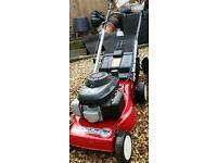 Mountfield laser omega Honda petrol lawn mower