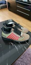 Men's dsquared trainers size uk7.5