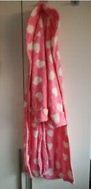 Pink Bathrobe
