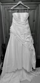 Ivory anna sorrano wedding dress