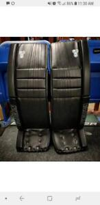 "Vaughn VE8 Pro Custom Goalie Pad Set 35""+2"