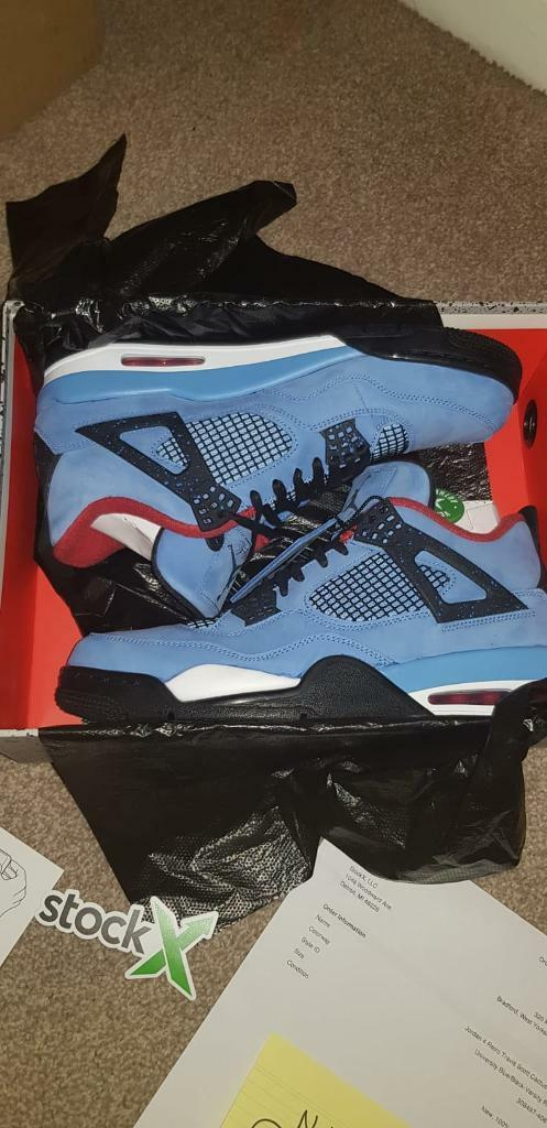 quality design f7aa4 a9019 Jordan 4 X Travis Scott Cactus Jack | in Idle, West Yorkshire | Gumtree