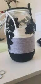 Floral vase handicrafted