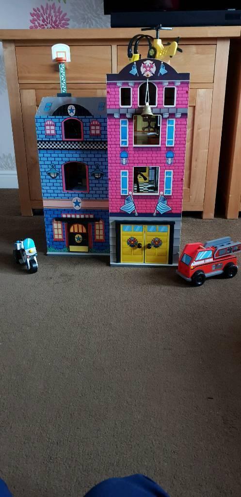 Kidkraft Fire Station In Telford Shropshire Gumtree