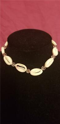 Fashion Natural Pink Beads Boho Shell Beach Choker Women Necklace - Fashionable Shell Beads Necklace