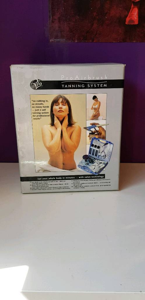 Rio-Pro-Airbrush-Tanning System Boxed