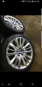 "Winter kit BMW 550i serie 5 OEM 19"" staggered"