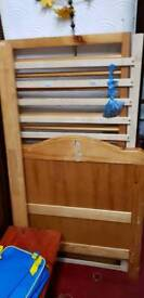 Baby cot / Infant cot . Used but still in good condition. Comes with a wipe clean mattress (Used)
