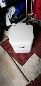 Brand New Unused Camping Flushable Toilet