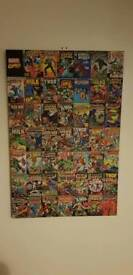 Marvel Comics Canvas