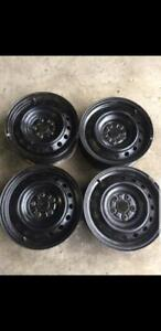 "4 steel rims BMW OEM 16"" new demo SPECIAL  SPECIAL"