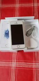 I phone SE silver 64G ex condition