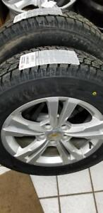 Brand new 225 65 17 Duraturn winter tires on OEM Chevy Equinox / GMS Terrain alloys 5x120 /* TPMS from $1100