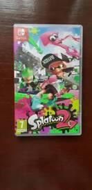Splatoon 2 Nintendo switch - not been played, like new