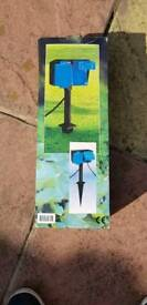 Garden electric extension cable