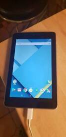 Nexus 7 android tablet