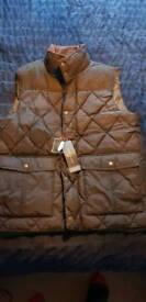 Mens body warmer jacket