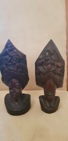 Decoration statues.