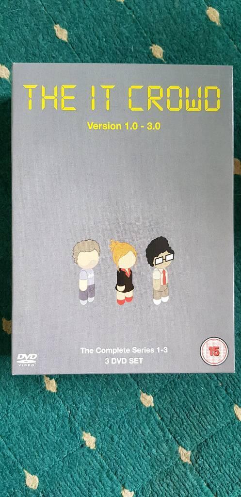 I.T. Crowd box set 1-3 dvd | in Kidderminster, Worcestershire | Gumtree