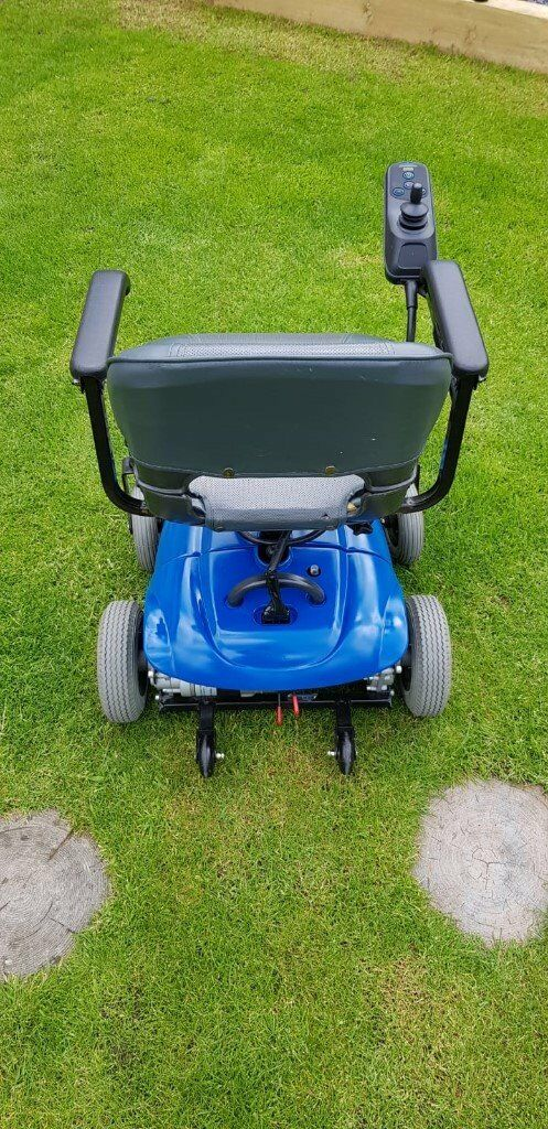 Shoprider Electric wheelchair, Blue, great condition   in ...