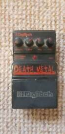 Digitech Death Metal Effects Pedal