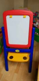 Childrens crayola magnetic/chalk board