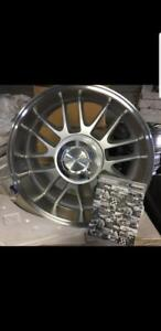 """SPECIAL SPECIAL     4 wheels OZ racing 5x135 or 5x139.7 pick up 18"""""""