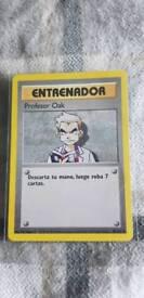 Base Set professor Oak (MINT) PSA 9/10 Trainer Pokemon card