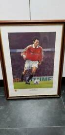 Manchester United Ryan Giggs Limited edition print