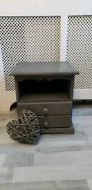 small shabby chic bedside table