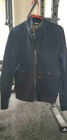 G star mens denim zip jacket medium