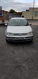 Vw golf 1.9 Tdi manual low mileage
